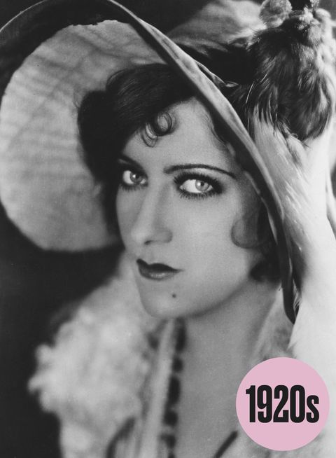 The top eye makeup trends of the last 100 years