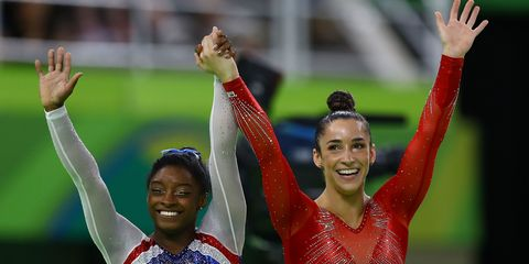 All the Best Moments from Simone Biles and Aly Raisman's Olympic Friendship