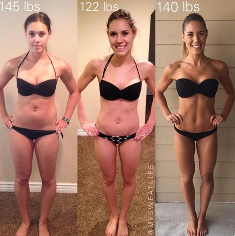 Undress chubby fitness models