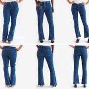 Clothing, Blue, Brown, Denim, Trousers, Jeans, Textile, Pocket, Standing, White,