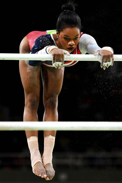 <p>She has two Olympic gold medals, a <em>Lifetime </em>biopic, and a special edition Barbie made just for her. So how does Gabby Douglas keep her bikini line smooth? Spoiler Alert: just like the rest of us.</p>
