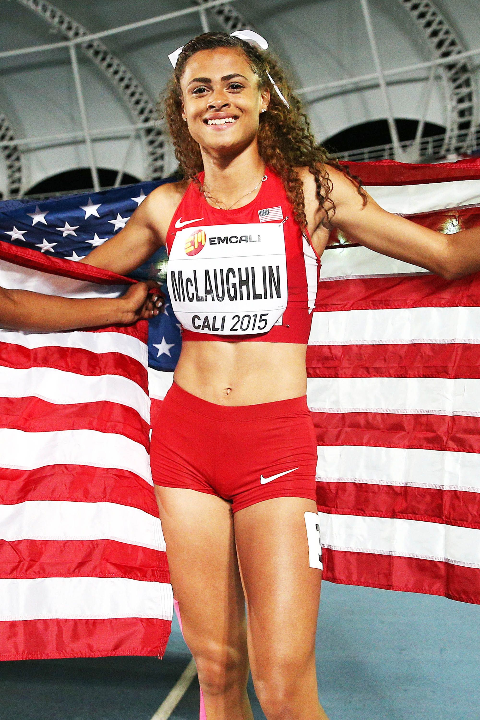 <p>This New Jersey native is the youngest track & field Olympian on Team USA, but you won't spot her on TV until this week: She's skipping the Opening Ceremony to celebrate her 17th birthday at home. </p>