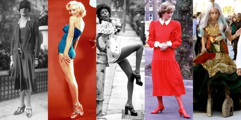 What High Heels Looked Like Throughout History