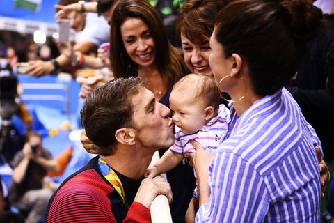 olympians with their kids