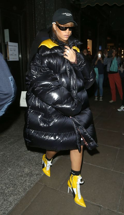 460ab1fa9c9 Rihanna Is all About the Summer Puffer
