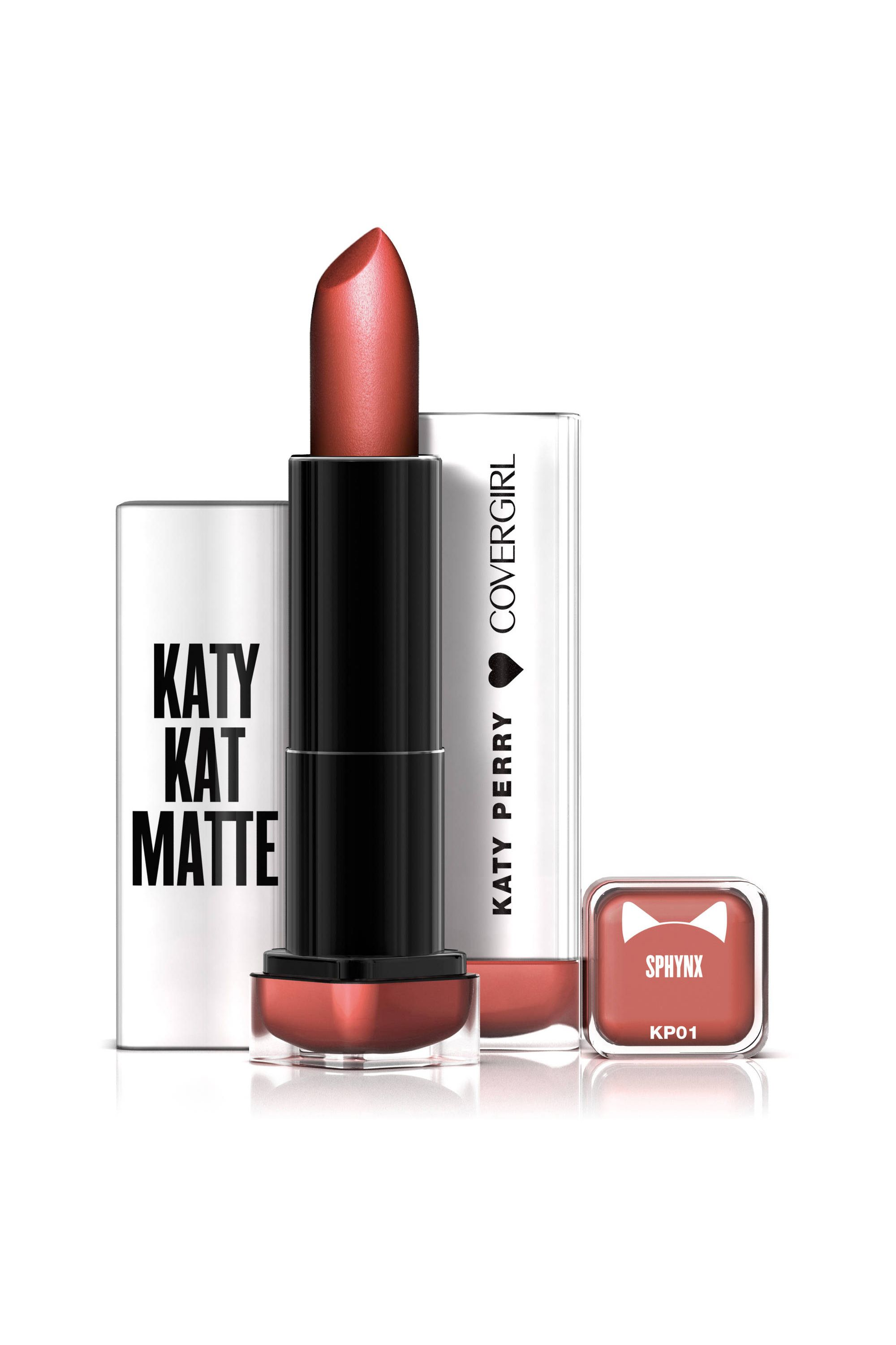 "<p>Don't let the name fool you, Katy Kat mattes are multi-dimensional and&nbsp&#x3B;moisturizing enough to apply without balm underneath. If like me, your natural lip color skews popsicle red, Sphynx is the ultimate your-lips-but-better toned-down shade.&nbsp&#x3B;— Julie Schott, Senior Beauty Editor</p><p><em data-redactor-tag=""em"" data-verified=""redactor"">CoverGirl Katy Kat Matte in Sphynx, $7&#x3B;&nbsp&#x3B;</em><a href=""http://www.walmart.com/ip/COVERGIRL-Katy-Kat-Matte-Lipstick-Sphynx-.12-oz-created-by-Katy-Perry/50275605"" target=""_blank""><em data-redactor-tag=""em"" data-verified=""redactor"">walmart.com</em></a></p>"