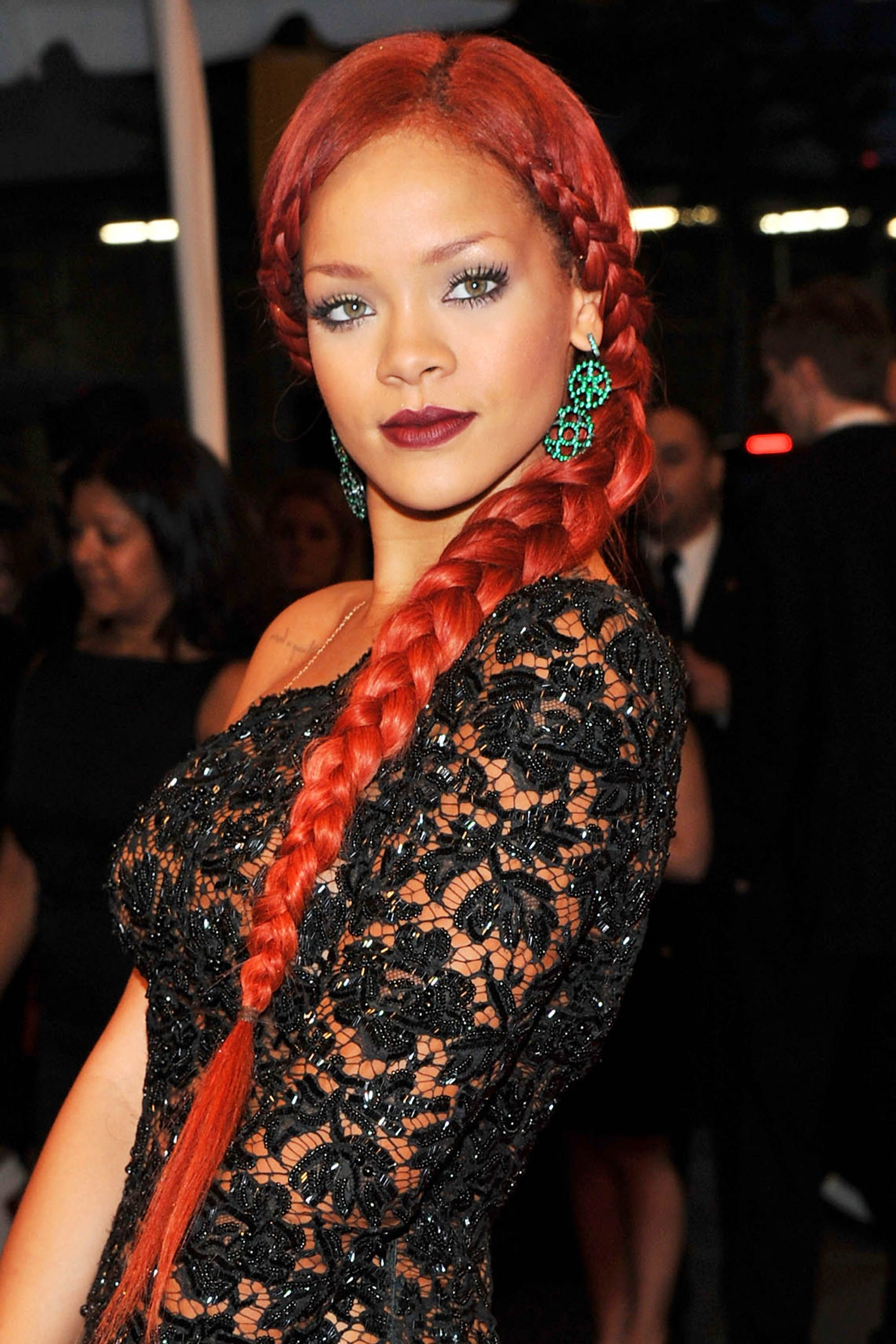50 best rihanna hairstyles - our favorite rihanna hair looks of