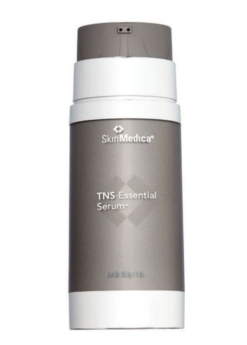 """<p>""""With one pump, my skin is getting&nbsp&#x3B;everything it needs—other than&nbsp&#x3B;a retinoid,"""" says Annie Chiu, MD, attending dermatologist at Cedars-Sinai Medical Center in&nbsp&#x3B;Los Angeles, of this serum, which&nbsp&#x3B;contains seven antioxidants, skin-plumping hyaluronic acid, collagen-stimulating growth factors, and brightening alpha-arbutin. In an in-house study, published in a supplement to the <em data-redactor-tag=""""em"""" data-verified=""""redactor"""">Journal of Drugs&nbsp&#x3B;in Dermatology </em>in 2009, subjects who applied TNS Essential Serum twice daily for 10 days on a sun-protected area of the lower back and&nbsp&#x3B;then were exposed to targeted UV radiation found that it minimized UV-induced redness in treated&nbsp&#x3B;areas by up to 50 percent.</p><p><em data-redactor-tag=""""em"""">TIP: Use it on recent stretch marks&#x3B;&nbsp&#x3B;the growth factors could help stimulate collagen and reduce visible texture changes.</em></p><p>SkinMedica TNS Essential, $281&#x3B; <a href=""""https://www.skinmedica.com/tns-essential-serum.html"""" target=""""_blank""""><span id=""""selection-marker-1"""" class=""""redactor-selection-marker"""" data-verified=""""redactor"""" data-redactor-tag=""""span"""" data-redactor-class=""""redactor-selection-marker""""></span>skinmedica.com<span id=""""selection-marker-2"""" class=""""redactor-selection-marker"""" data-verified=""""redactor"""" data-redactor-tag=""""span"""" data-redactor-class=""""redactor-selection-marker""""></span></a></p>"""