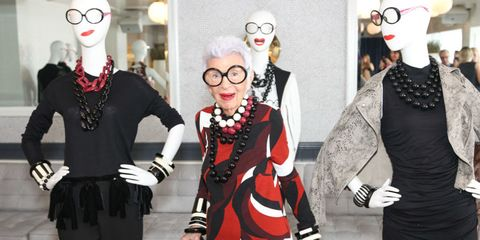 Iris Apfel On What She Thinks is Missing From The New Generation of Style Stars