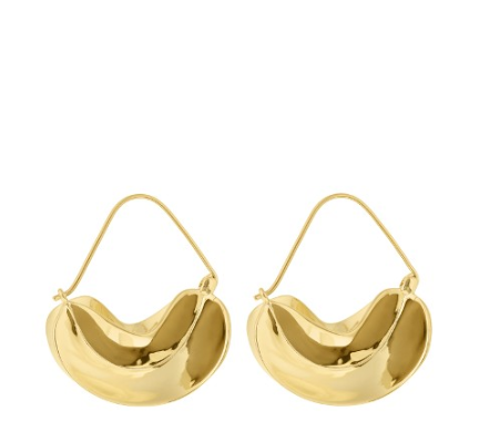 "<p>Anissa Kermiche Gold-Plated Earring, $496; <a href=""http://www.matchesfashion.com/us/products/Anissa-Kermiche-Gold-plated-earrings-1070183"">matchesfashion.com</a></p>"