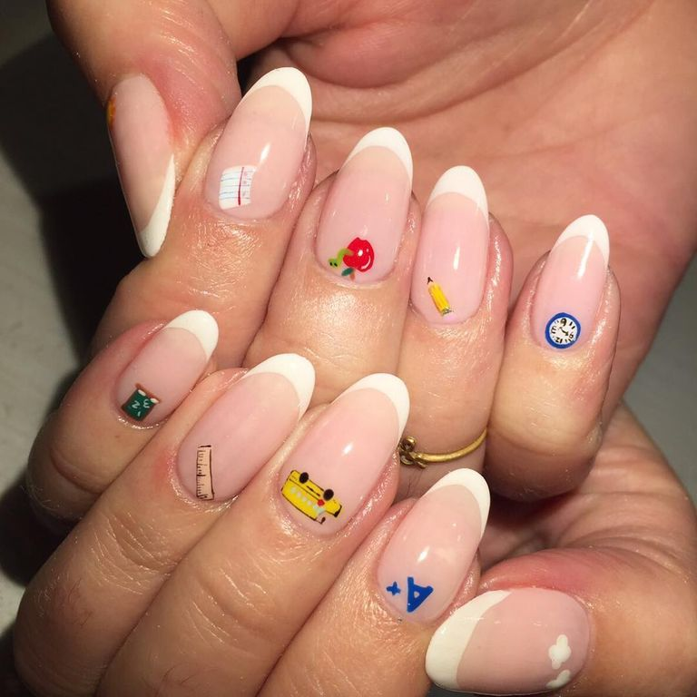 24 French Manicure Ideas for 2018 - New Nail Art Designs for French Tips