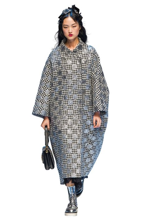 Clothing, Sleeve, Textile, Standing, Style, Pattern, Dress, Fashion, Street fashion, Electric blue,