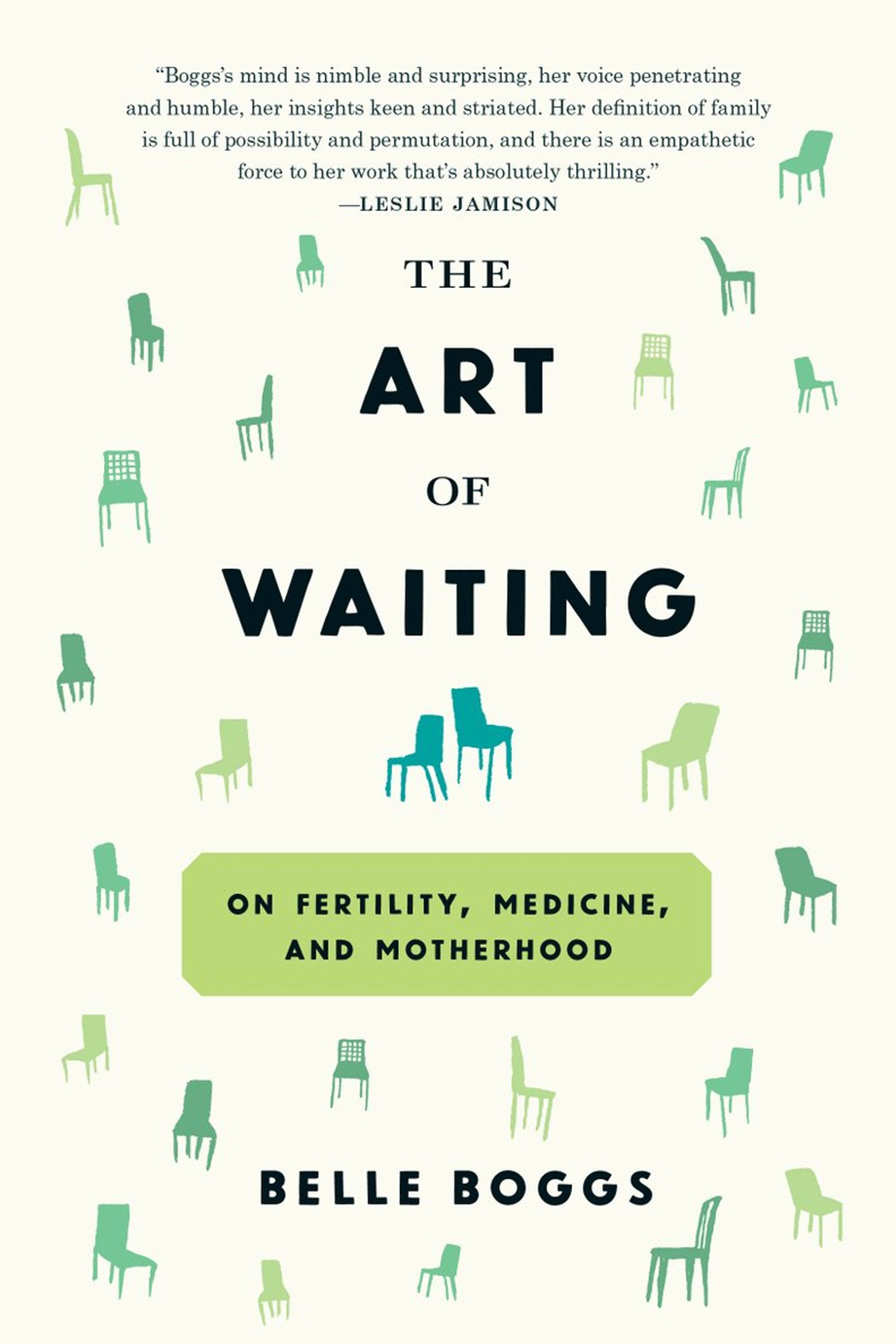"<p>Belle Boggs' 2012 essay&nbsp&#x3B;""The Art of Waiting"" primed audiences for this intelligent, moving exploration of fertility. In the<span id=""selection-marker-1"" class=""redactor-selection-marker"" data-verified=""redactor"" data-redactor-tag=""span"" data-redactor-class=""redactor-selection-marker""></span> book, she ranges outside her own experience, turning to the animal kingdom and pop culture to survey how we respond to the possibility—and, sometimes, impossibility—of parenthood.&nbsp&#x3B;(<a href=""https://www.amazon.com/Art-Waiting-Fertility-Medicine-Motherhood/dp/1555977499"">Graywolf Press</a>, September 6)</p>"
