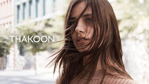 Taylor Hill for Thakoon
