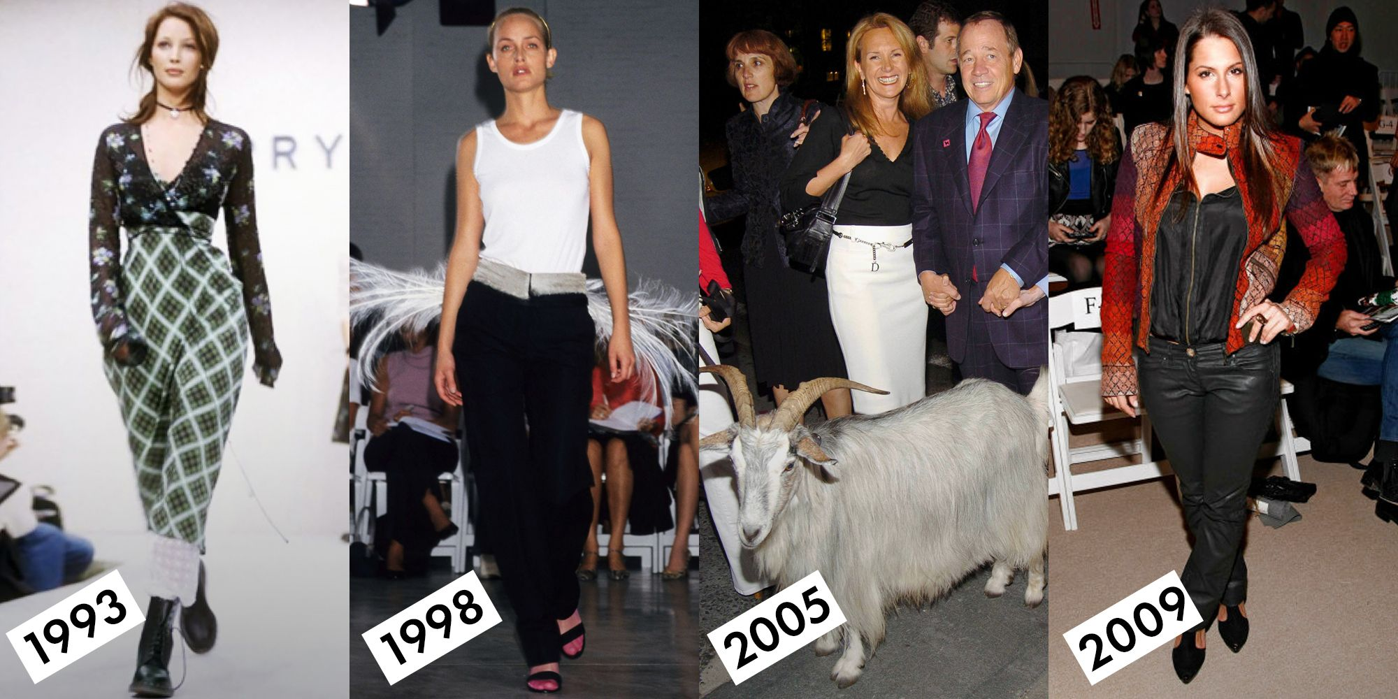 17 What Just Happened Moments From New York Fashion Week History