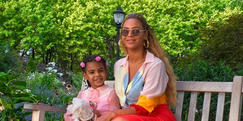Fabulous Blue Ivy Carter At Beyonces Soultrain Birthday Party Blue Ivy Personalised Birthday Cards Cominlily Jamesorg