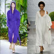 Clothing, Fashion, Fashion model, Purple, Dress, Fashion design, Haute couture, Formal wear, Outerwear, Suit,