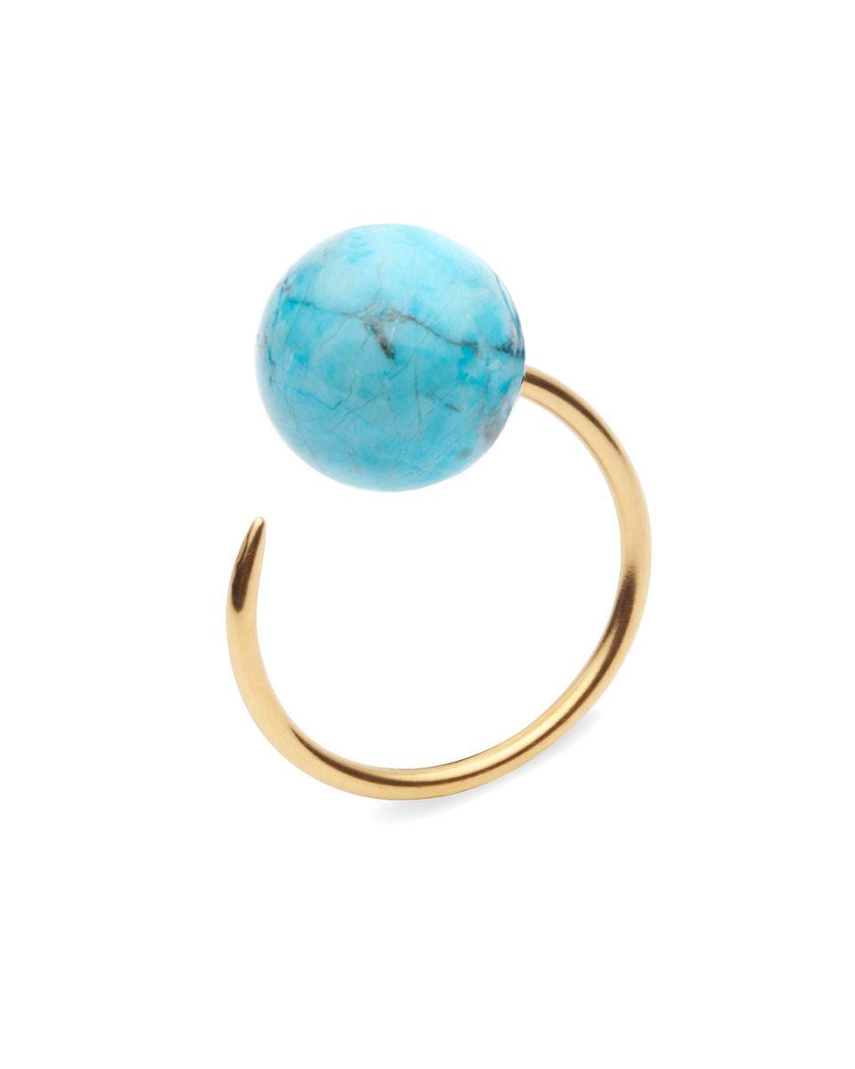 "<p>Amber Sceats Riley Ring, $69&#x3B; <a href=""http://ambersceats.com/product/riley-ring/#"" target=""_blank"">ambersceats.com</a></p>"