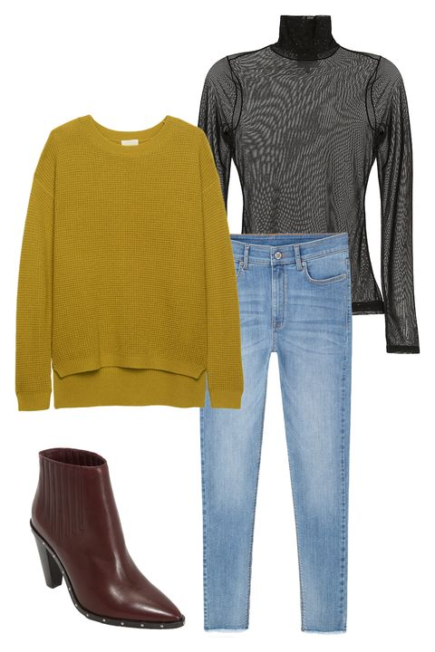 Blue, Product, Brown, Yellow, Sleeve, Denim, Textile, Jeans, Pattern, Fashion,