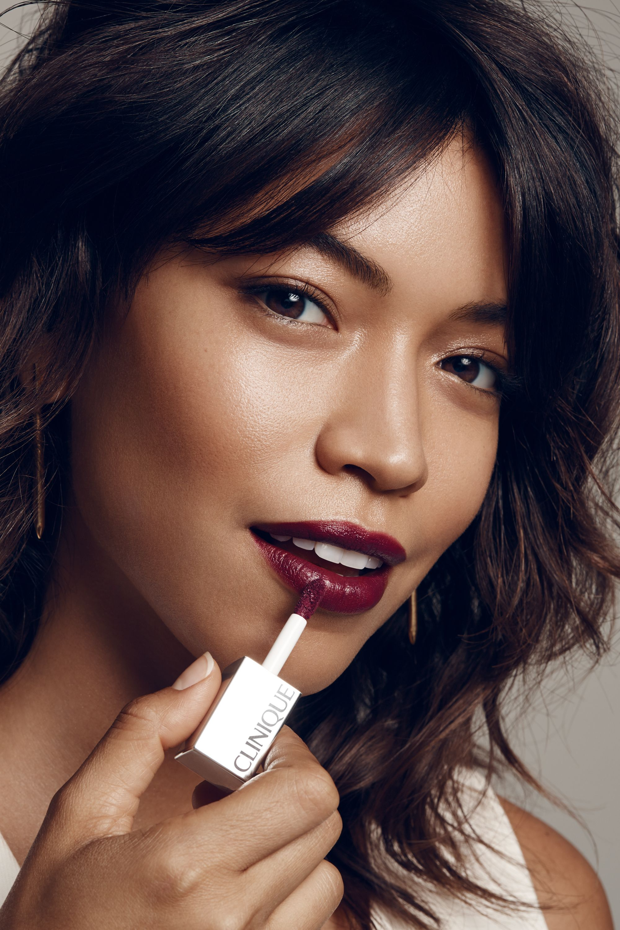"<p>The saturated nature of the typical matte lipstick means that wherever you apply it, there it stays, requiring a steady hand. But a liquid matte formula, like Clinique Pop Liquid Matte Lip Colour + Primer<span class=""redactor-invisible-space"" data-verified=""redactor"" data-redactor-tag=""span"" data-redactor-class=""redactor-invisible-space"">,</span> spreads easily before setting, making precise application a breeze. Dab the liquid lip color straight onto the center of your upper and lower lips, press lips together, and use your index finger to push the color in and out into the corners. ""Pressing gets the color to absorb into the lips for staying power,"" says Park. Dab on another layer, press, and repeat until you reach an intensity you love. ""You can leave it as a deep stain or build up to a full opaque coverage,"" she suggests. </p>"