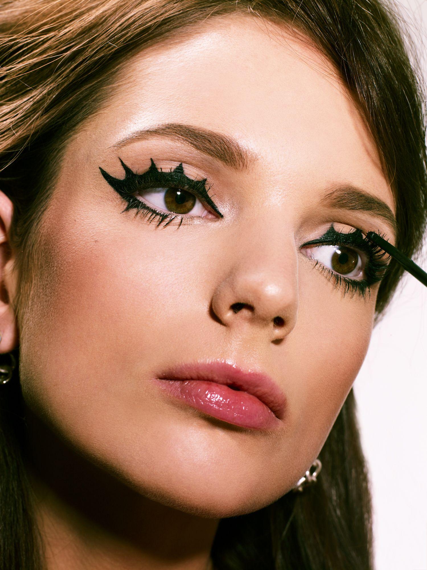angel, mod, and rock star halloween makeup - halloween makeup ideas