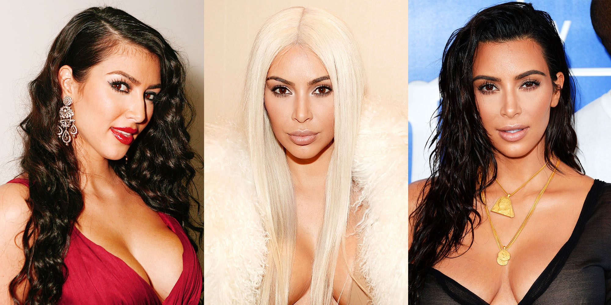 Kim Kardashian Hair Evolution in the Most Epic Appearences pics