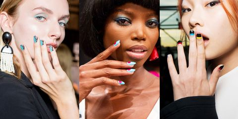 All The Standout Nail Designs From Spring Runways