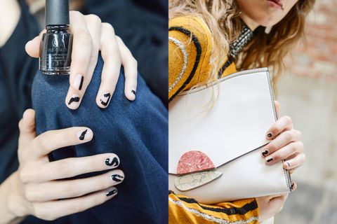 nyfw proenza schouler nails 2017