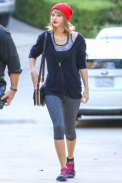 Taylor Swift S Gym Fashion Evolution Taylor Swift S Workout Style In Photos