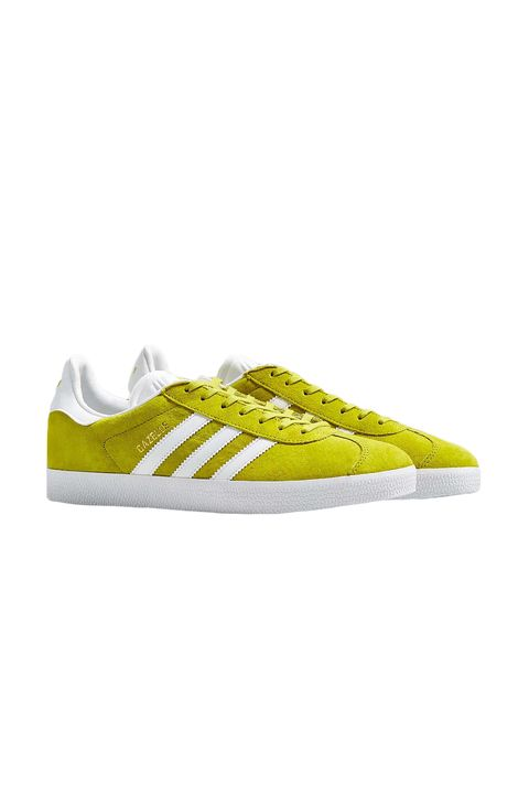 """<p>The Stan Smith might be on its way out, but there's another&nbsp;it-Adidas shoe ready to replace it. The Gazelle, originally released in the '60s, is being resurrected and will be your next <a href=""""https://www.westfield.com/products/collection/sneaker-classics?utm_source=Hearst&amp;utm_medium=Elle&amp;utm_content=Sneaker-Classics"""" target=""""_blank"""">go-to sneaker</a>. We predict this citrine yellow color becoming the hardest to get your hands on, thanks in part to its major visibility during the <a target=""""_blank"""" href=""""http://www.elle.com/runway/g28788/3-1-phillip-lim-runway-nyfw-spring-2017/?slide=42&amp;thumbnails="""">spring 2017 season.</a>&nbsp;</p><p><em data-verified=""""redactor"""" data-redactor-tag=""""em"""">Adidas Gazelle Sneaker, $80; <a href=""""http://www.urbanoutfitters.com/urban/catalog/productdetail.jsp?id=38597449&amp;category=SEARCH+RESULTS&amp;color=071"""" target=""""_blank"""" id=""""LPlnk199466"""" class=""""x_OWAAutoLink"""">adidas.com</a></em></p><p>For more shop at <a href=""""https://www.westfield.com/products/collection/sneaker-classics?utm_source=Hearst&amp;utm_medium=Elle&amp;utm_content=Sneaker-Classics"""" target=""""_blank"""">Westfield</a></p>"""