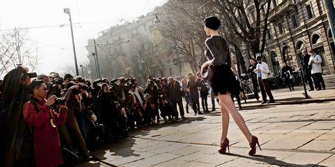 Footwear, Human body, Road, Street, Crowd, Style, Street fashion, Pedestrian, Fashion, Dress,