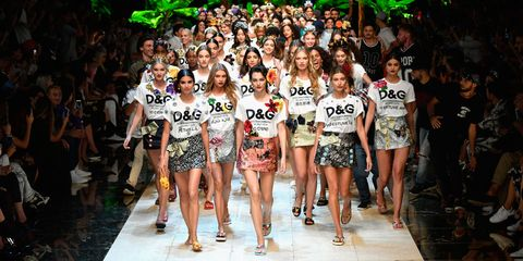 8cd05e89d2 91 Looks From the Dolce & Gabbana Spring 2017 Show - Dolce & Gabbana ...