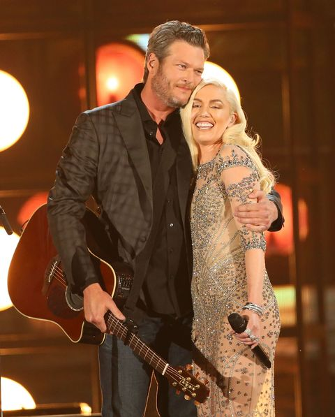 This Is What Happens When You Ask Gwen Stefani About Her and Blake Shelton's Wedding