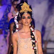 Crown, Headpiece, Hair accessory, Fashion accessory, Headgear, Fashion, Beauty, Youth, Model, Fashion model,
