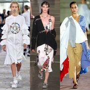 Footwear, Fashion show, Runway, Fashion, Street fashion, Fashion model, Costume design, Fashion design, Costume, Haute couture,