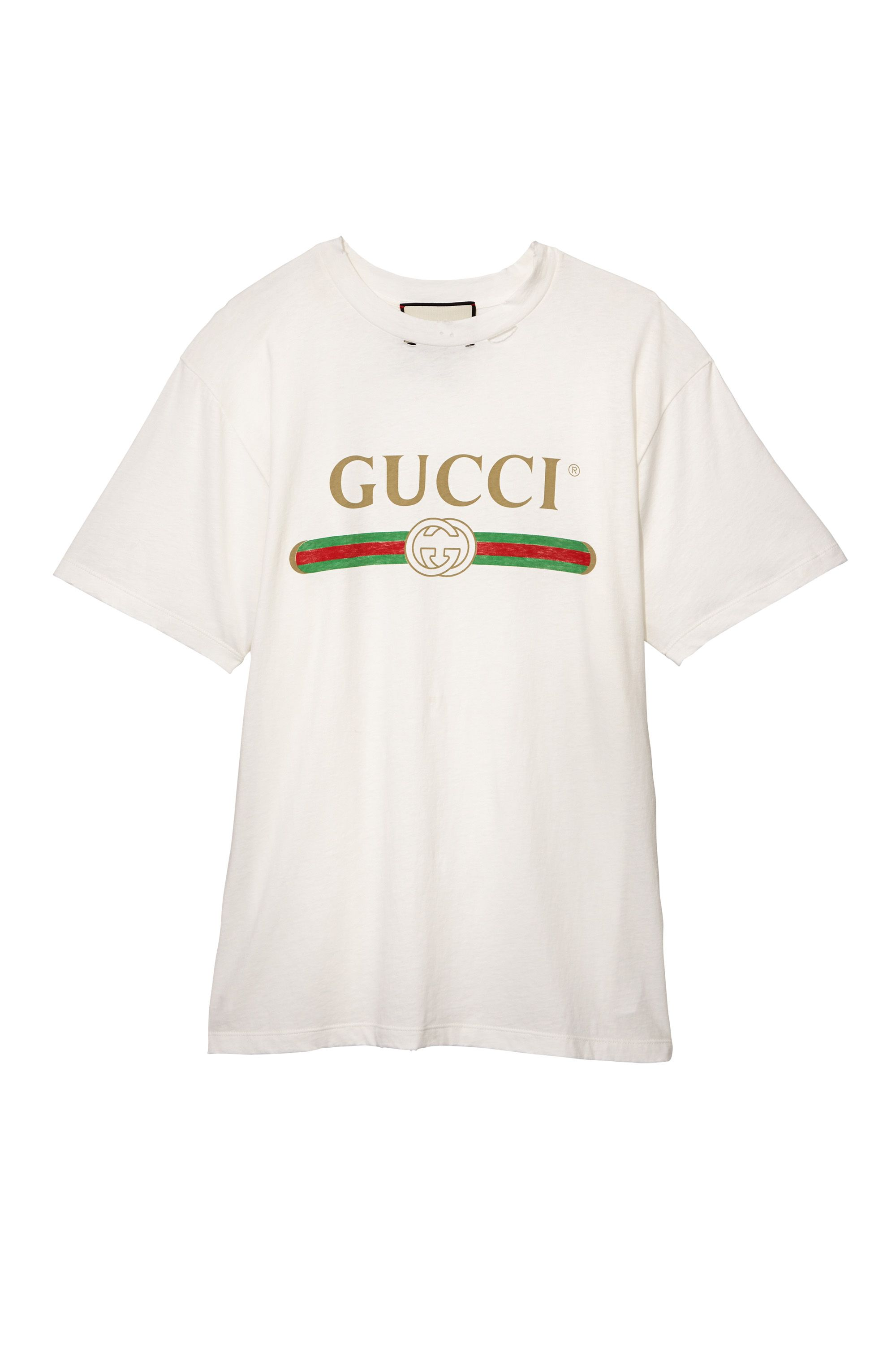 "<p>Cotton T-shirt, GUCCI, $590, at select Gucci stores nationwide<span data-redactor-tag=""span"" data-verified=""redactor""></span></p>"