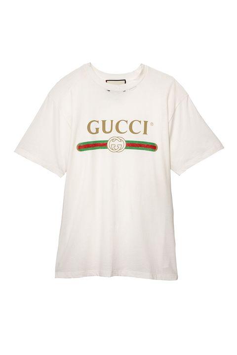 "<p>Cotton T-shirt, GUCCI,&nbsp;$590, at select Gucci stores&nbsp;nationwide<span data-redactor-tag=""span"" data-verified=""redactor""></span></p>"