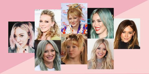 Hilary Duff Critiques 12 of Her Most Memorable Hairstyles