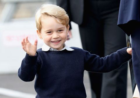 Prince George Waving Goodbye to Canada Is Honestly the Cutest Thing Ever