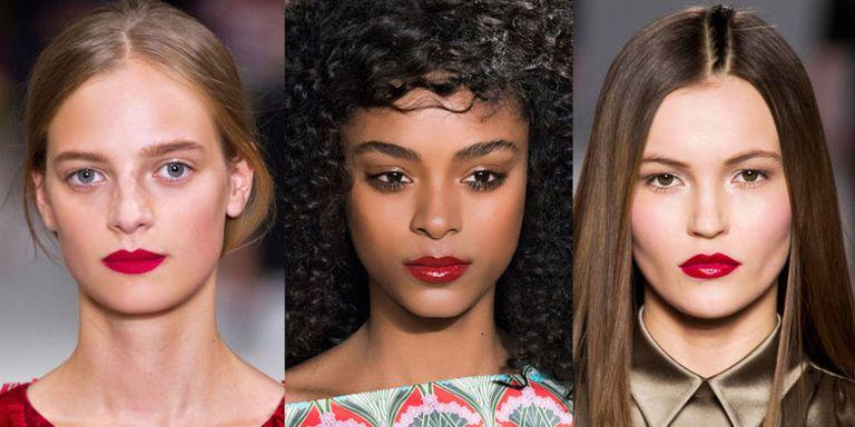 Flattering Red Lipstick For Fair, Olive and Dark Skin ... чернокожий