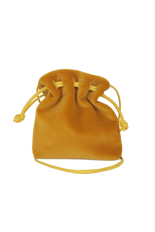 "<p>Clare V Henri Petit, $245; <a href=""https://www.clarev.com/collections/all/products/henri-petit-goldenrod-cotton-velvet"">clarev.com</a></p>"