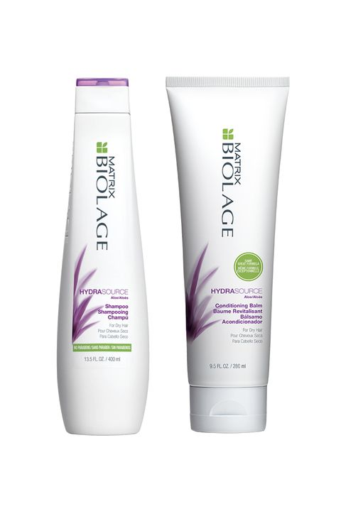 "I don't have much to say other than my hair felt stronger and silkier ever since I started using Biolage. Honestly, I originally chose it because they were the fanciest looking products in CVS. I chose the hydrating formula because of my dry, brittle ends and frizz. It's been 4 years, and I've never looked back. My frizz is all but gone and one of my best friends told me he always sits next to me because my hair smells really good. Weird? Yes. But I'll take it.- Emily Tannenbaum  <i data-redactor-tag=""i"">Matrix Biolage HydraSource Shampoo, $17; <a href=""http://www.matrix.com/biolage/hydrasource-shampoo"" target=""_blank"">matrix.com</a> </i></p><p><i data-redactor-tag=""i"">Matrix Biolage Hydrasource Conditioning Balm, $17; <i data-redactor-tag=""i""><a href=""http://www.matrix.com/biolage/hydrasource-conditioner"" target=""_blank"">matrix.com</a></i><a href=""http://www.matrix.com/biolage/hydrasource-conditioner"" target=""_blank""></a><a href=""http://www.ulta.com/biolage-hydrasource-conditioning-balm?productId=xlsImpprod12991105&amp;sku=2290682&amp;cmpid=PS_Non!google!Product_Listing_Ads&amp;cagpspn=pla&amp;CATCI=pla-195674944590&amp;CAAGID=31031361737&amp;CAWELAID=330000200000347094&amp;catargetid=330000200000806432&amp;cadevice=c&amp;gclid=CJHrpK3hss8CFZGBaQodhQkOAg"" target=""_blank""></a></i></p><p>"" data-srcset=""https://hips.hearstapps.com/ell.h-cdn.co/assets/16/39/emily.jpg?crop=1.0xw:1xh;center,top&resize=480:*"" data-src=""https://hips.hearstapps.com/ell.h-cdn.co/assets/16/39/emily.jpg?crop=1.0xw:1xh;center,top&resize=480:*""> </picture><div class="