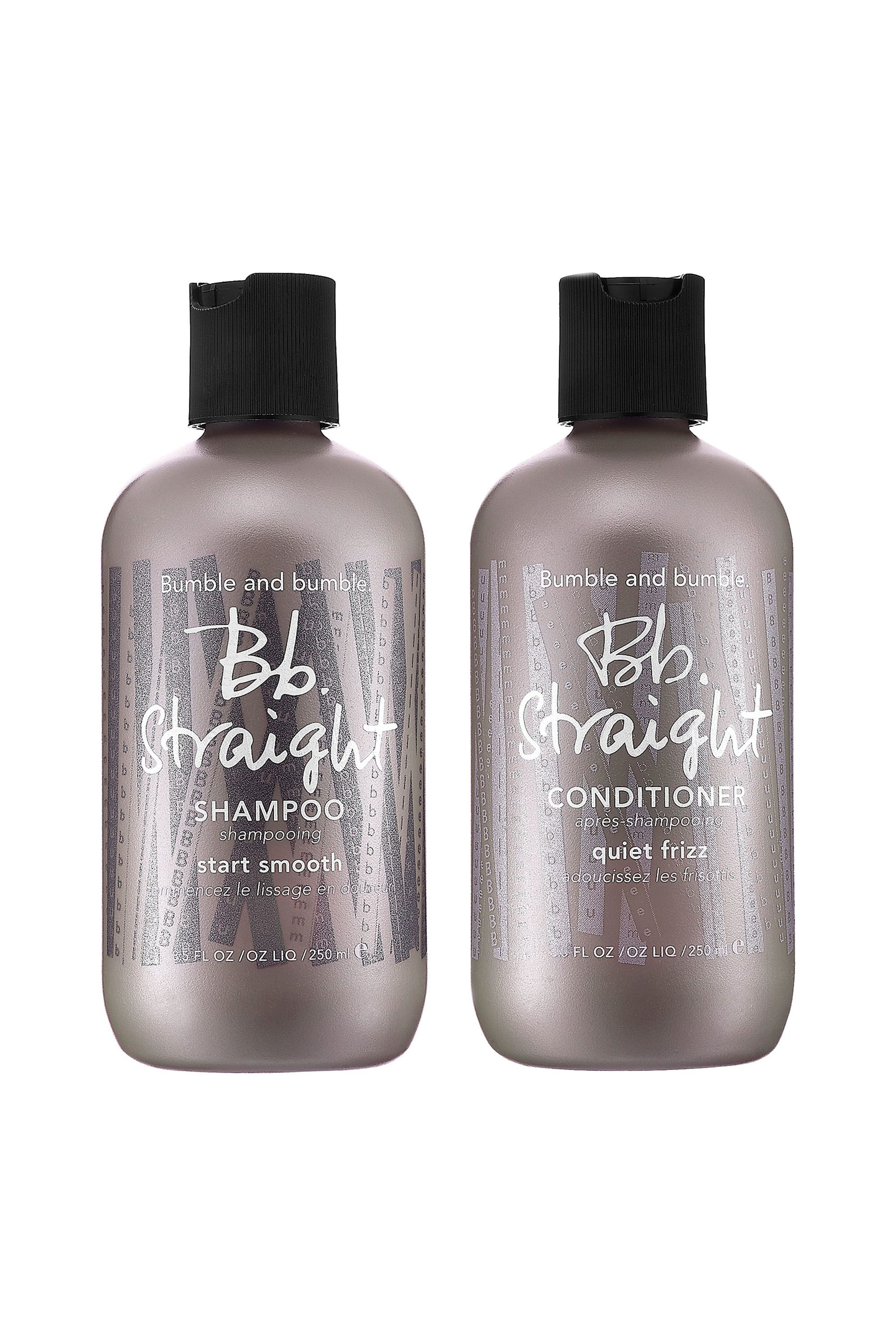 "<p>Let's start with the fact that I fully buy into the likely myth that your shampoo and conditioner have to match. It's like a bra-underwear set. No real reason that they have to go together, but you feel like such a lady when they do. Anyway! The point is these products work like a dream. I've been loyal to Bumble and Bumble haircare for at least a decade, but I've only been evangelical about this particular line for a year or two. My brilliant goddess hair colorist at the downtown salon recommended it for my decidedly wavy hair, promising it could minimize the frizz without compromising the curl. Good woman! It worked.- Mattie Kahn, ELLLE.com News Writer</p><p><i data-redactor-tag=""i"">Bumble and bumble Straight Shampoo, $31; <a href=""http://www.sephora.com/straight-shampoo-P297552?"" target=""_blank"">sephora.com</a></i></p><p><i data-redactor-tag=""i"">Bumble and bumble Straight Conditioner, $34; <a href=""http://www.sephora.com/straight-conditioner-P297553?"" target=""_blank"">sephora.com</a></i></p>"