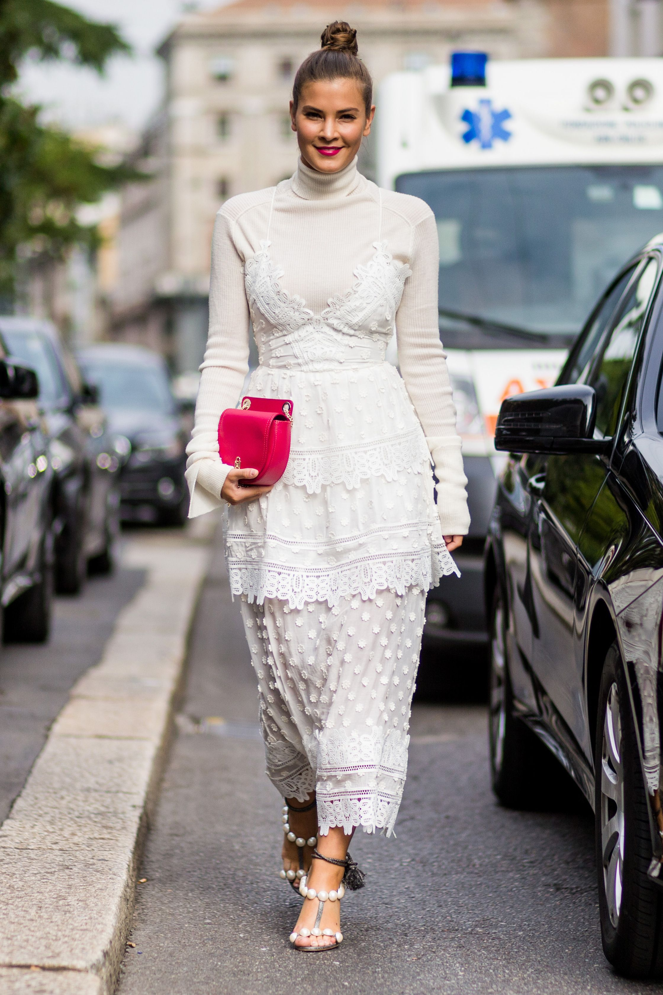 Image result for bag outfit street style 2017