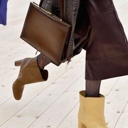 Brown, Textile, Khaki, Joint, Bag, Style, Tan, Fashion, Street fashion, Leather,