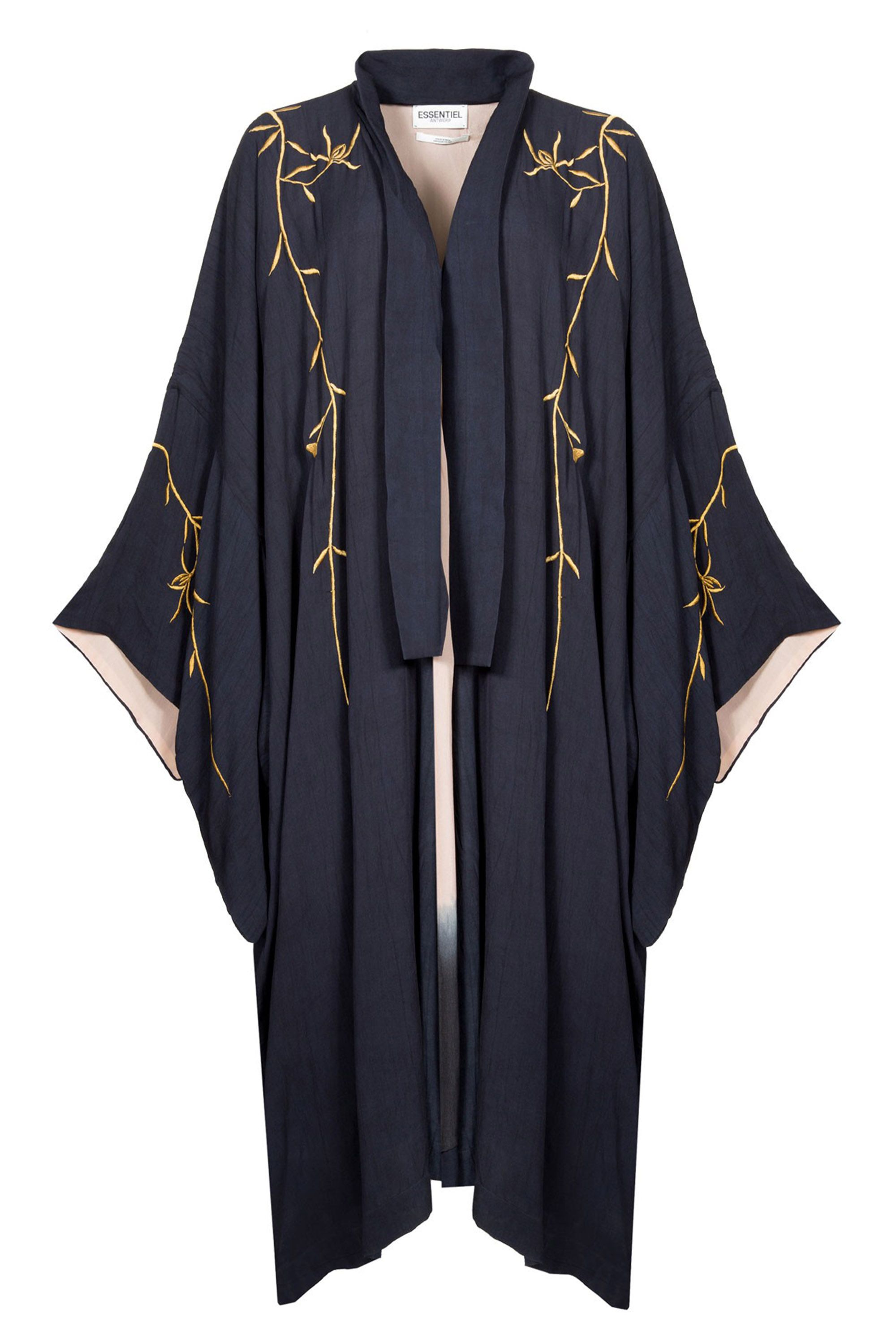 "<p>Essentiel Antwerp Gold Embroidered Kimono Moore Coat, €285; <a href=""https://www.essentiel-antwerp.com/eu/women/jackets-coats/moore-coat"" target=""_blank"">essentiel-antwerp.com</a></p>"