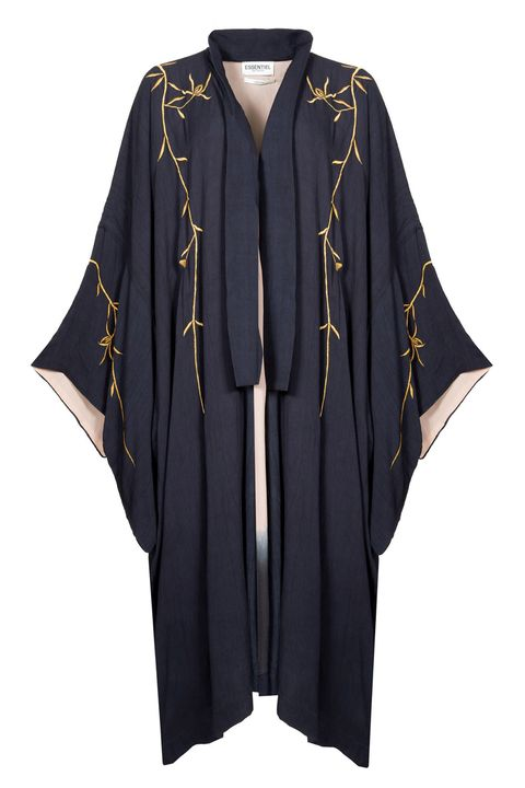 "<p>Essentiel Antwerp Gold Embroidered Kimono Moore Coat, €285;&nbsp;<a href=""https://www.essentiel-antwerp.com/eu/women/jackets-coats/moore-coat"" target=""_blank"">essentiel-antwerp.com</a></p>"