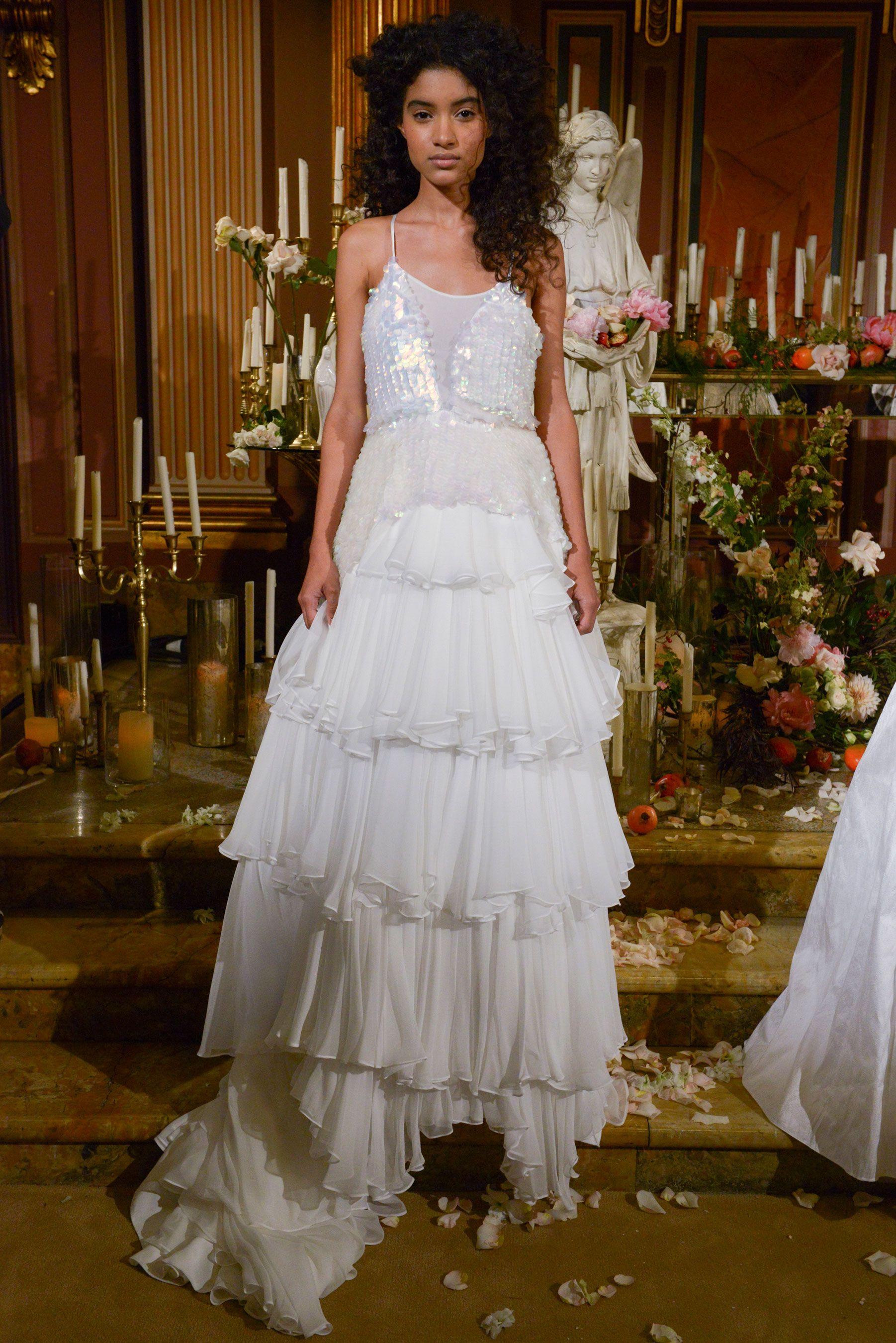 d210572a88f7 Best Dresses from Bridal Week Fall 2017- 42 of the Prettiest Dresses