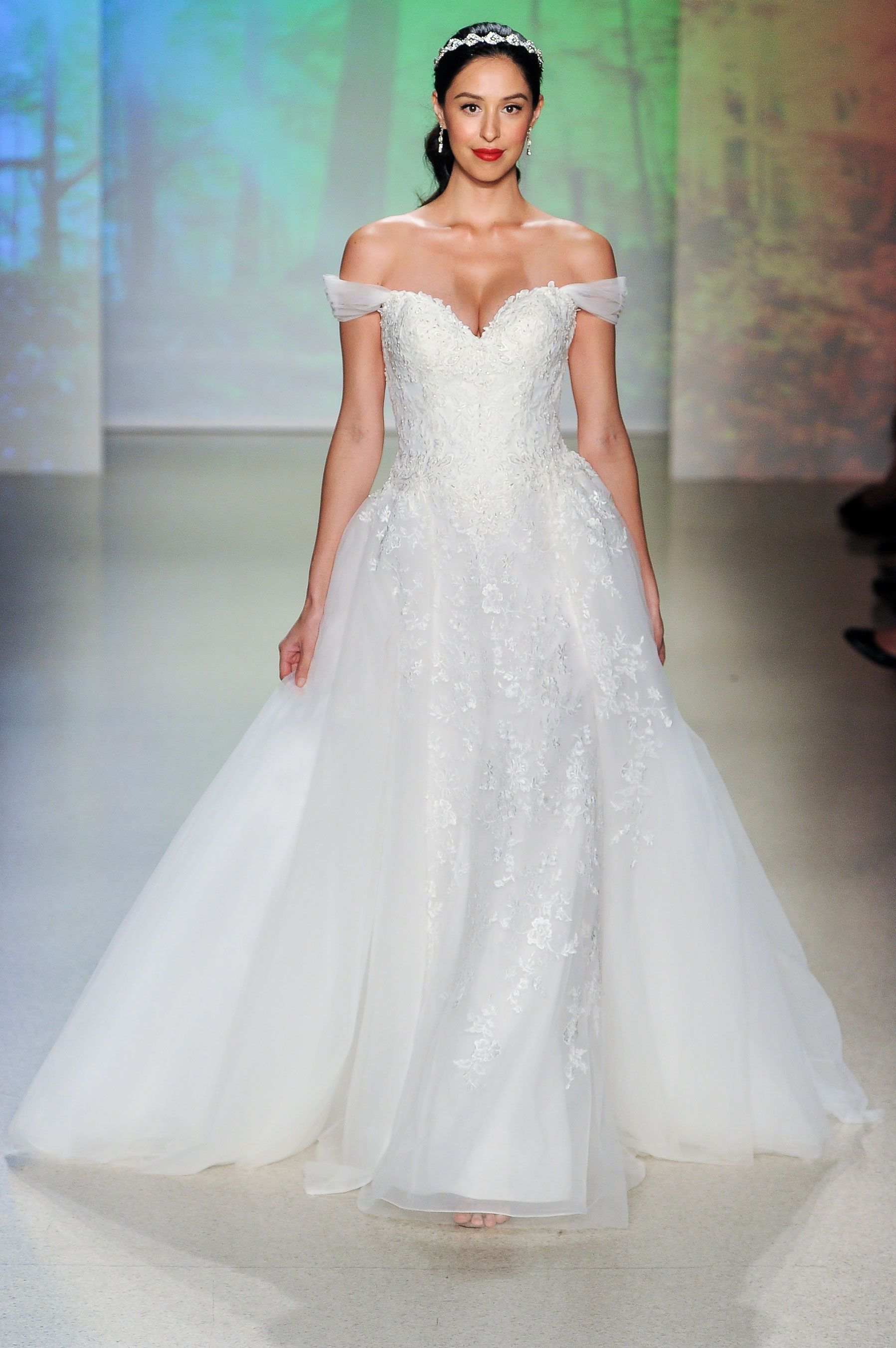 An off the shoulder wedding dress is the next big thing junglespirit Gallery