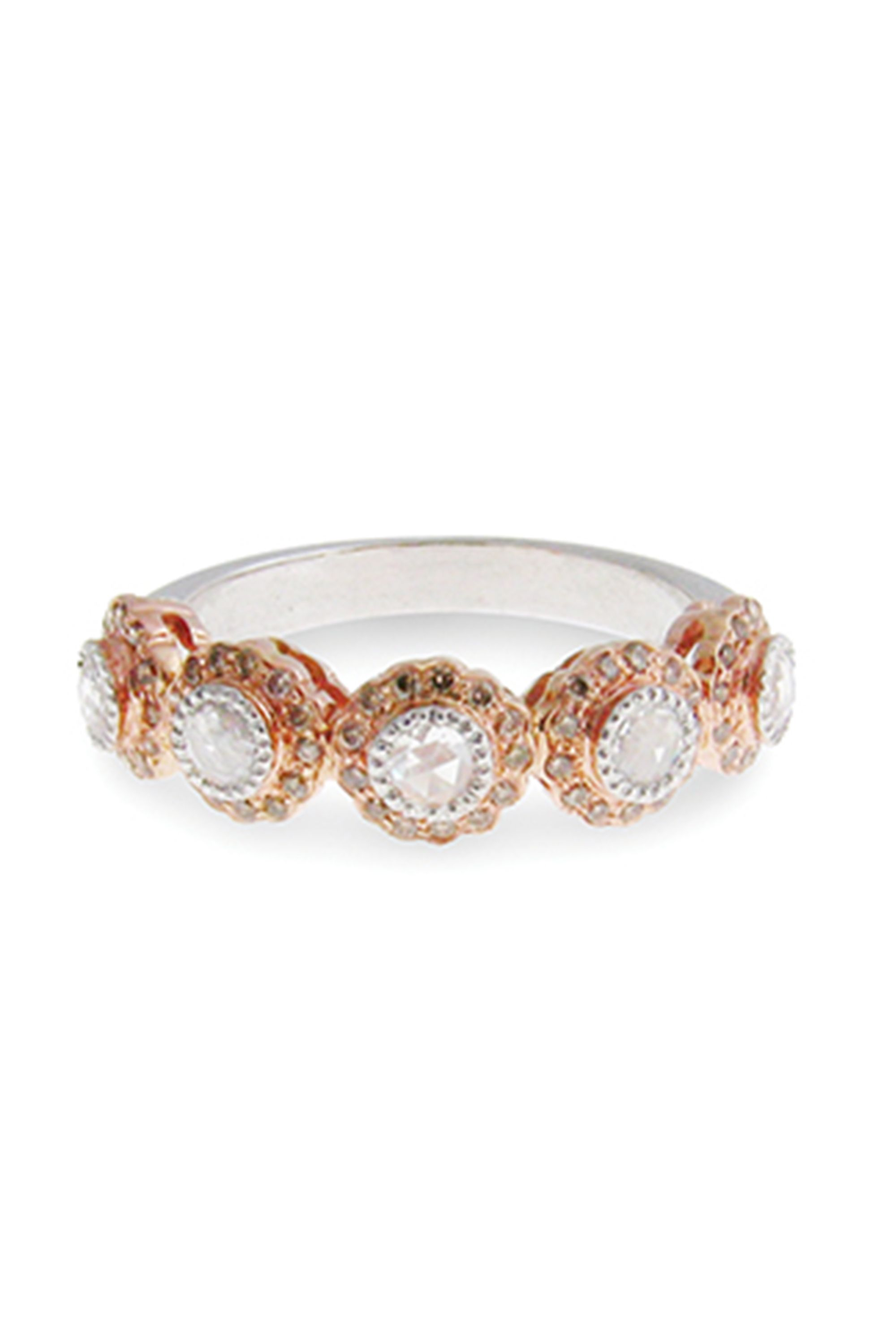 engagement band miraya orange rings